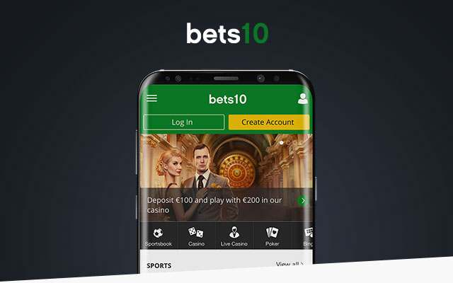 Bets10 Mobile Web